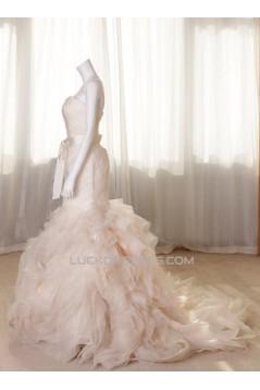 Trumpet/Mermaid Sweetheart Bridal Gown Wedding Dress WD010461
