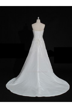 A-line Sweetheart Bridal Gown Wedding Dress WD010472