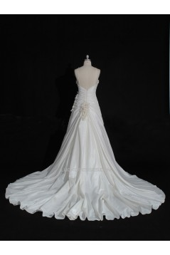 A-line Sweetheart Beaded Bridal Gown Wedding Dress WD010478