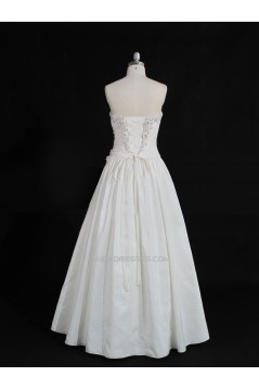 A-line Sweetheart Beaded Lace Bridal Gown Wedding Dress WD010487
