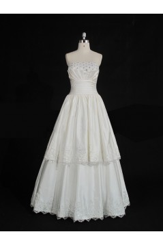Ball Gown Beaded Lace Bridal Gown Wedding Dress WD010489