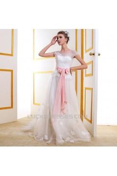 A-line Lace Bridal Wedding Dresses WD010511