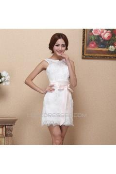 Short/Mini Lace Bridal Wedding Dresses WD010512