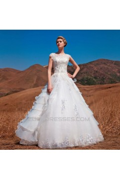 Ball Gown Lace Bridal Wedding Dresses WD010520