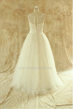 Ball Gown Lace Bridal Wedding Dresses WD010524