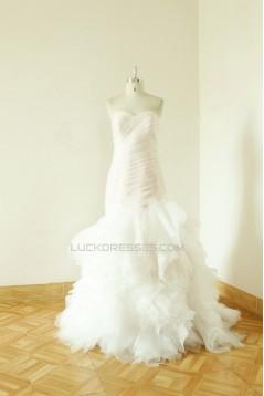 Trumpet/Mermaid Sweetheart Bridal Wedding Dresses WD010538