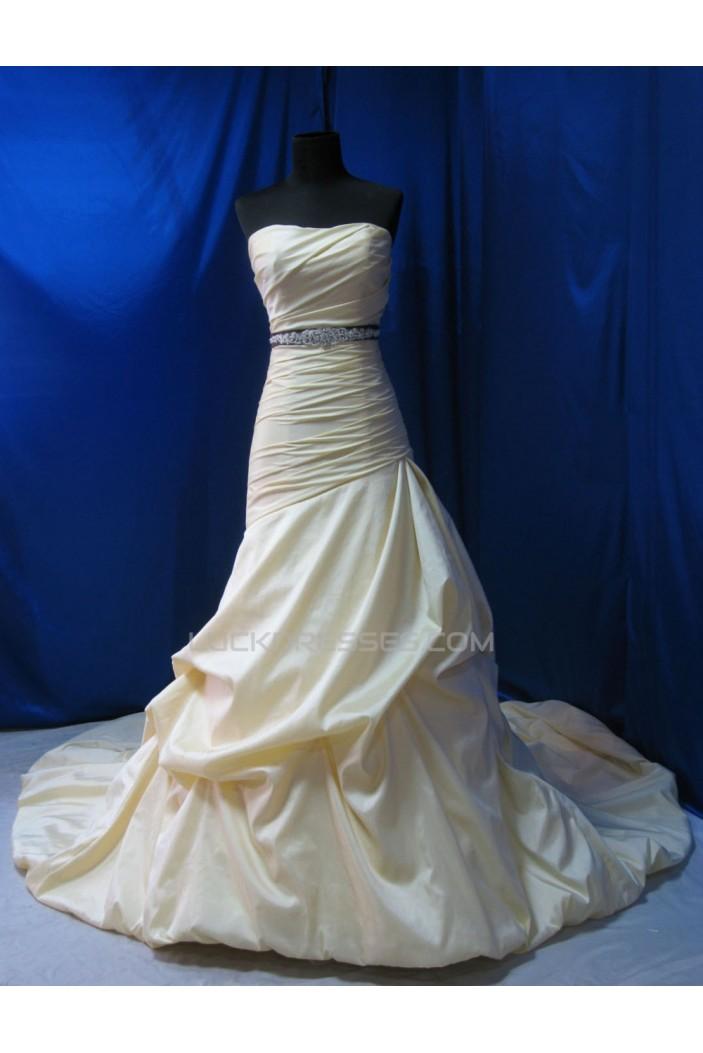 Classic Strapless Bridal Wedding Dresses WD010545