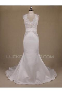 Trumpet/Mermaid Lace Bridal Wedding Dresses WD010554