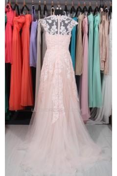 A-line Lace Bridal Wedding Dresses WD010557
