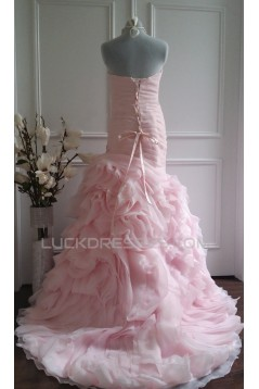 Trumpet/Mermaid Sweetheart Bridal Wedding Dresses WD010567