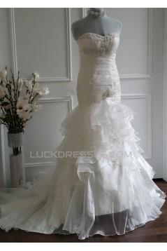 Trumpet/Mermaid Sweetheart Bridal Wedding Dresses WD010568