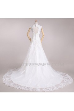 A-line Lace Bridal Wedding Dresses WD010583