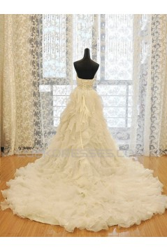 A-line Sweetheart Beaded Lace Bridal Wedding Dresses WD010584