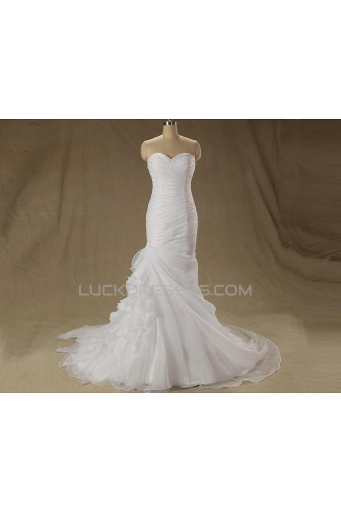 Trumpet/Mermaid Sweetheart Bridal Wedding Dresses WD010609