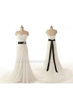Trumpet/Mermaid Sweetheart Bridal Wedding Dresses WD010614