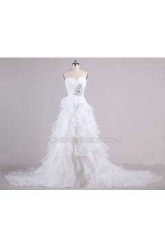A-line Sweetheart Bridal Wedding Dresses WD010615