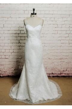 Trumpet/Mermaid Lace Bridal Wedding Dresses WD010649
