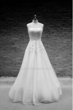 A-line Lace Bridal Wedding Dresses WD010660
