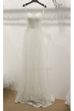 Sheath/Column Sweetheart Lace Bridal Wedding Dresses WD010661