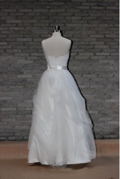 Ball Gown One Shoulder Bridal Wedding Dresses WD010668