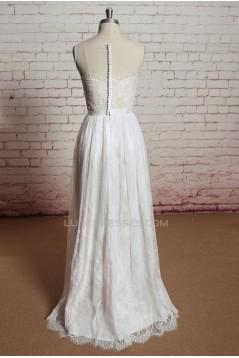 Sheath/Column Lace Bridal Wedding Dresses WD010676