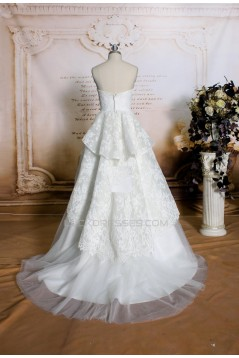 A-line Sweetheart Lace and Tulle Bridal Wedding Dresses WD010694