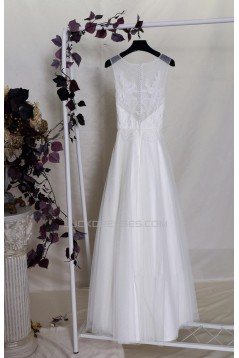 A-line Lace Bridal Gown Wedding Dress WD010702