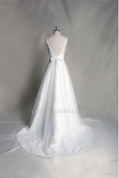 A-line Straps Lace Bridal Gown Wedding Dress WD010709