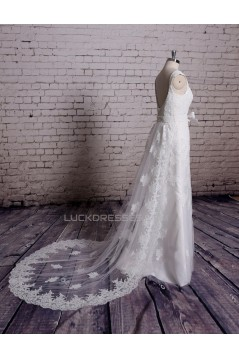Trumpet/Mermaid Lace Bridal Gown Wedding Dress WD010724