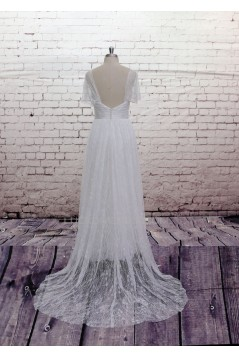 A-line Sweetheart Lace Bridal Gown Wedding Dress WD010728