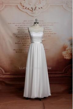 A-line Lace Bridal Gown Wedding Dress WD010746