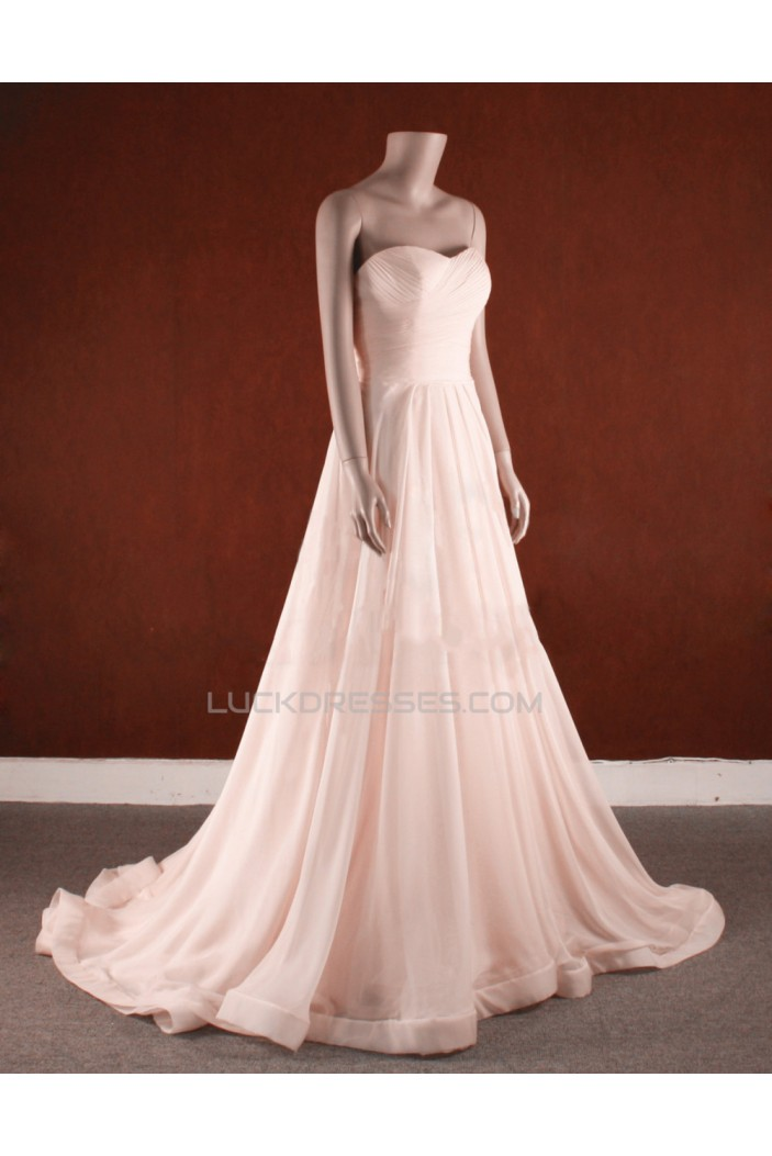 A-line Sweetheart Bridal Gown Wedding Dress WD010752