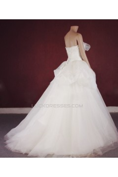 Ball Gown Sweetheart Bridal Gown Wedding Dress WD010756