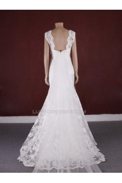 Trumpet/Mermaid Lace Bridal Gown Wedding Dress WD010769