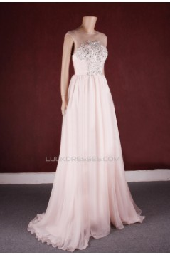 A-line Beaded Bridal Gown Wedding Dress WD010775