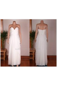 Sheath/Column Sweetheart Bridal Gown Wedding Dress WD010782