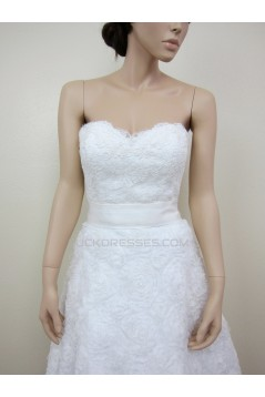 A-line Sweetheart Short Bridal Gown Wedding Dress WD010786