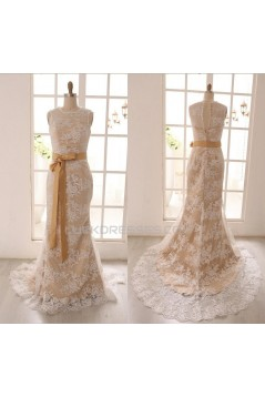 Trumpet/Mermaid Lace Bridal Gown Wedding Dress WD010790