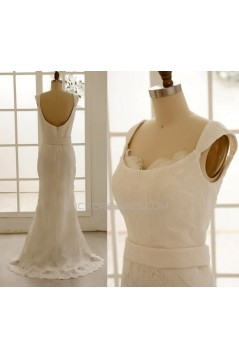 Trumpet/Mermaid Lace Bridal Gown Wedding Dress WD010796