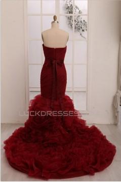 Trumpet/Mermaid Sweetheart Bridal Wedding Dresses WD010801