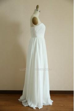 A-line Chiffon Bridal Wedding Dresses WD010805