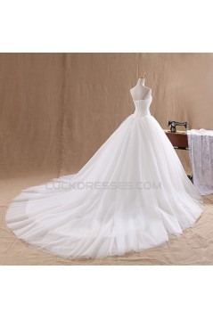 Ball Gown Strapless Bridal Wedding Dresses WD010807