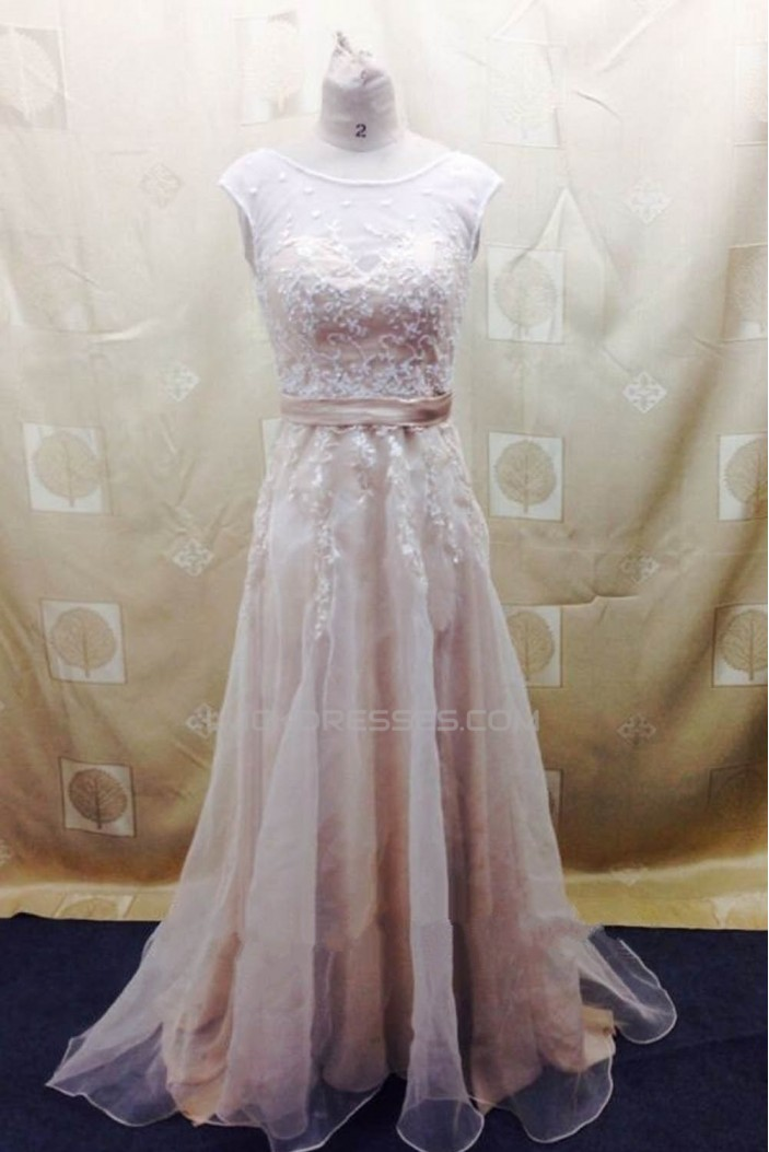 A-line Lace Bridal Wedding Dresses WD010810