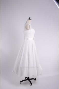 A-line Short Bridal Wedding Dresses WD010835