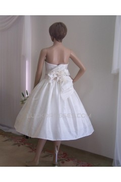 Ball Gown Sweetheart Short Bridal Wedding Dresses WD010847