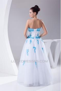 Ball Gown Sweetheart Sleeveless Beaded Wedding Dresses 2030017