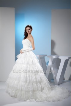 Ball Gown Sweetheart Lace New Arrival Wedding Dresses 2030035