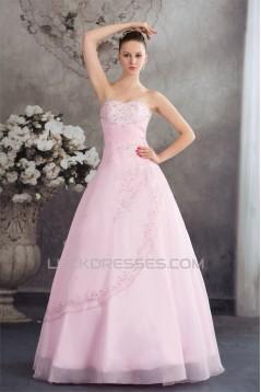 Ball Gown Beaded Sweetheart Sleeveless Wedding Dresses 2030066