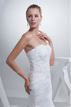 Beautiful Sleeveless Mermaid/Trumpet Beaded Lace Wedding Dresses 2030070