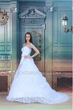 Unique Design Sleeveless Sweetheart Ball Gown Wedding Dresses 2031039
